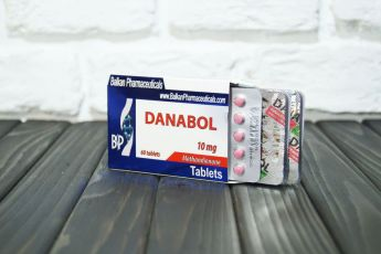 Данабол (Balkan Pharma) в оригинальной коробке